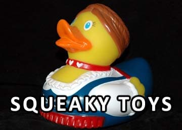 do yorkies love Squeaky toys